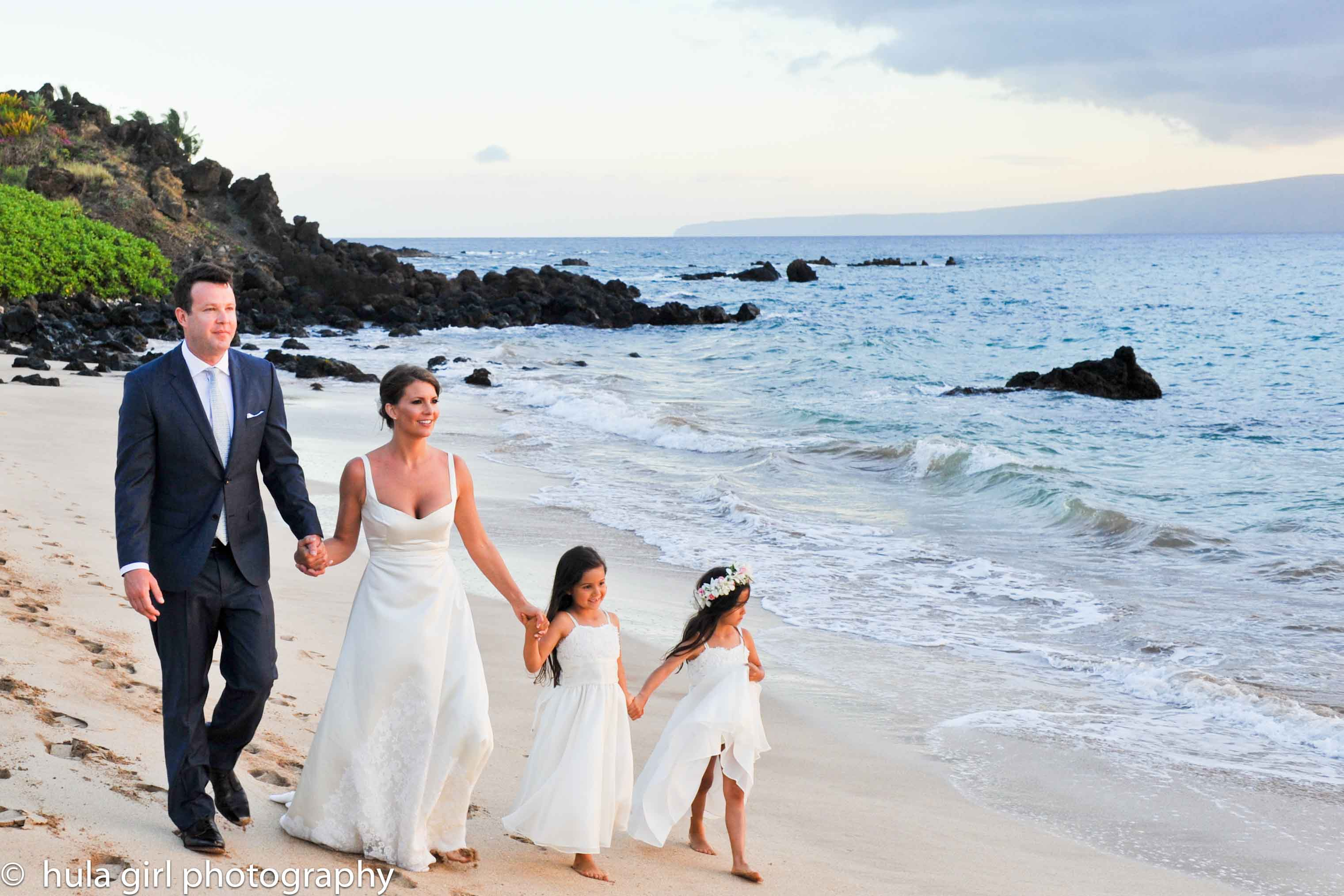 Our Super Sweet Wedding At White Rock Beach Located In Makena Maui