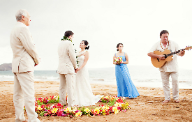 Maui Wedding Package - Island Tradition